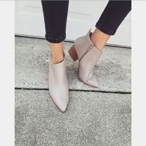 🚨END OF SUMMER SALE// Taupe Bootie